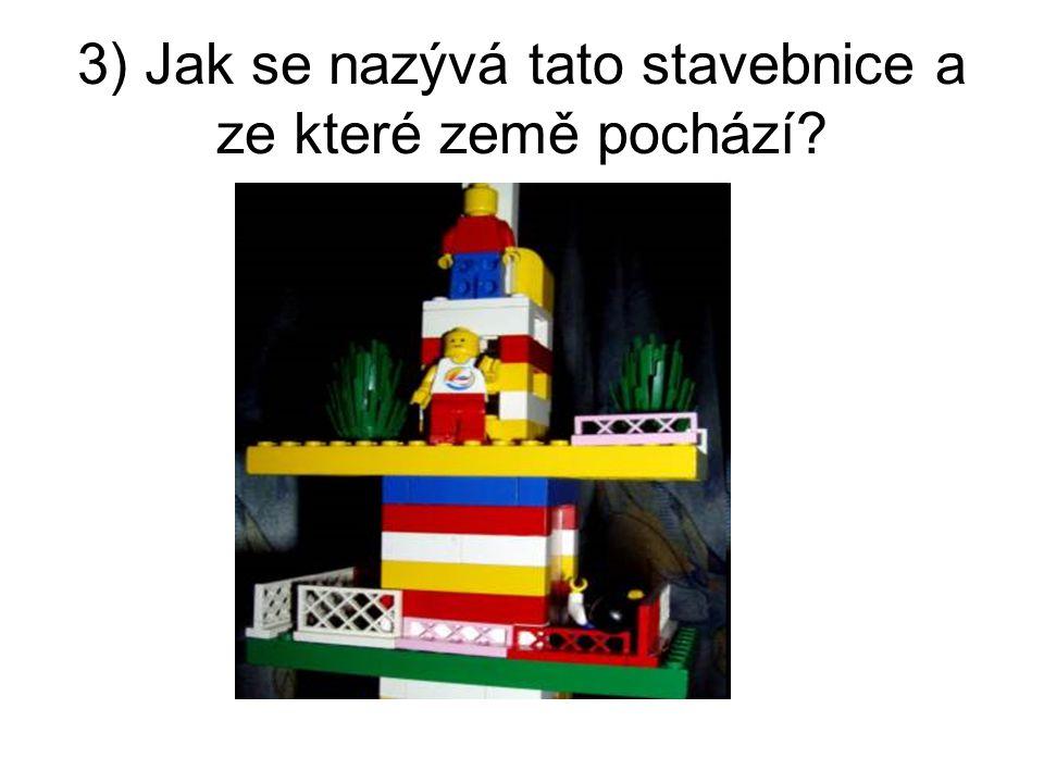 3) Jak se nazývá tato stavebnice a ze které země pochází?