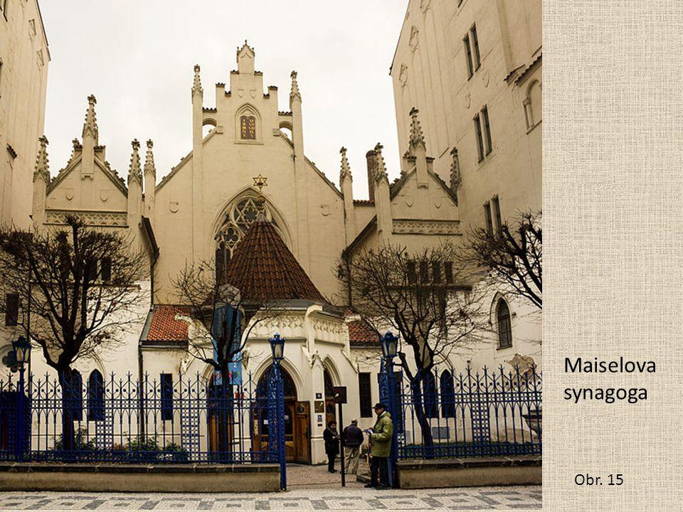 Maiselova synagoga Obr. 15