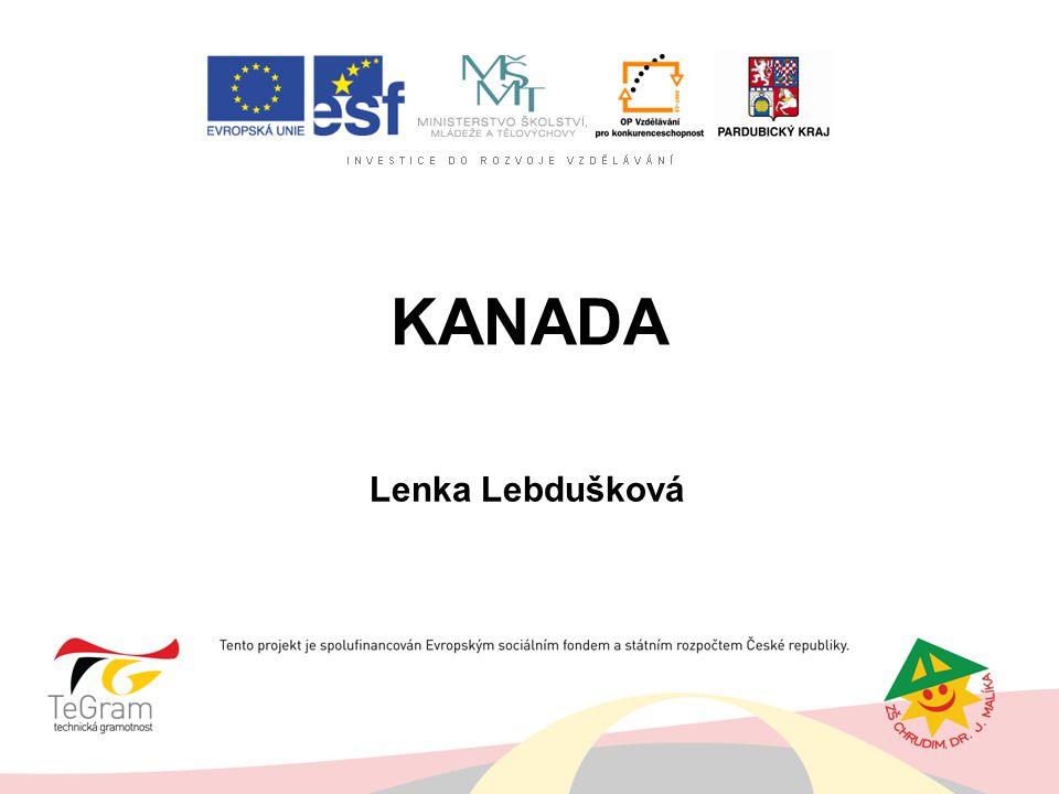 KANADA Lenka Lebdušková