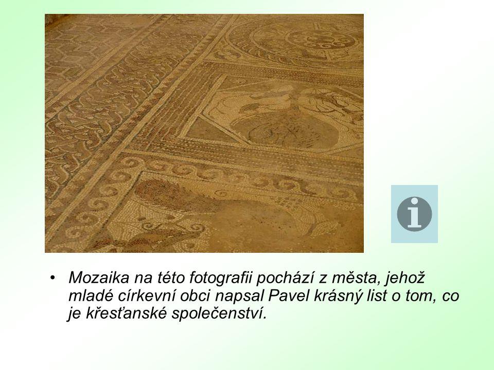 Na snímku je vězení nalezené ve Filipech.Z podobného vězení, jehož místo neznáme, napsal sv.