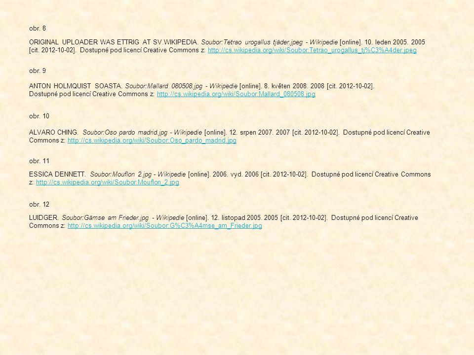 ANTON HOLMQUIST SOASTA. Soubor:Mallard 080508.jpg - Wikipedie [online]. 8. květen 2008. 2008 [cit. 2012-10-02]. Dostupné pod licencí Creative Commons