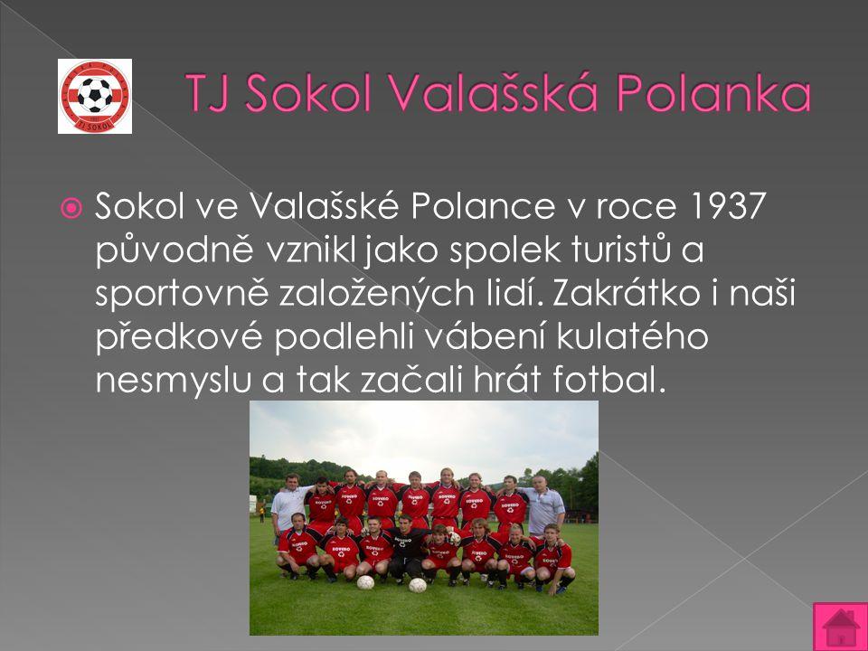  Sokol ve Valašské Polance v roce 1937 původně vznikl jako spolek turistů a sportovně založených lidí. Zakrátko i naši předkové podlehli vábení kulat
