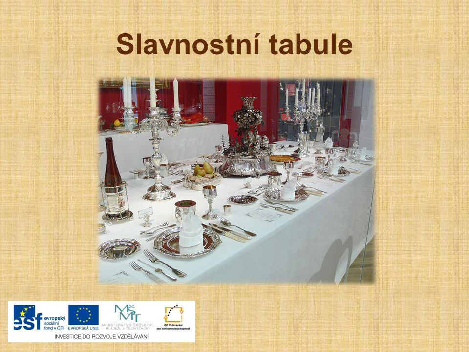 Desatero správného stolování Správné stolování je ukázkou kultury a hygieny každého člověka.