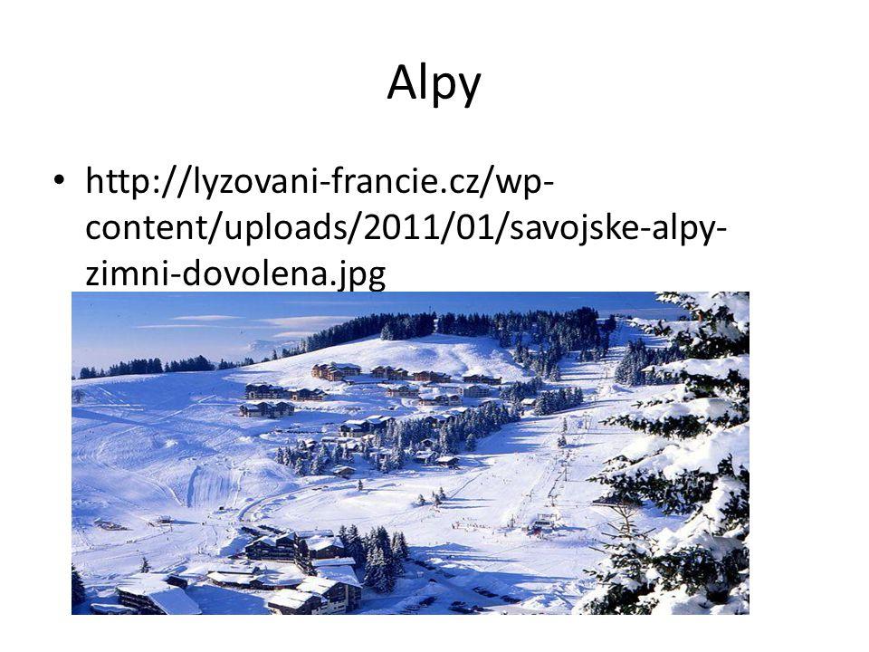 Alpy http://lyzovani-francie.cz/wp- content/uploads/2011/01/savojske-alpy- zimni-dovolena.jpg