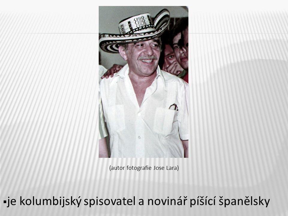 (autor fotografie Jose Lara)  je kolumbijský spisovatel a novinář píšící španělsky