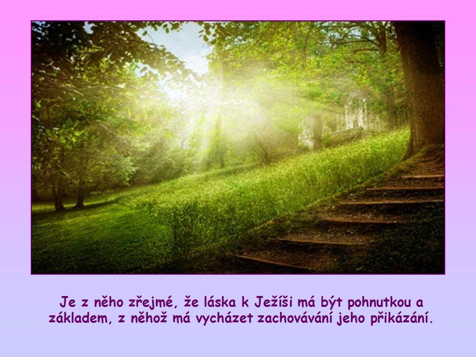 """Vyjadřují, že zachováváme-li Ježíšova přikázání, zůstáváme v lásce. Souvisejí s jedním z předcházejících veršů, ve kterém Ježíš říká apoštolům: """"Jestl"""