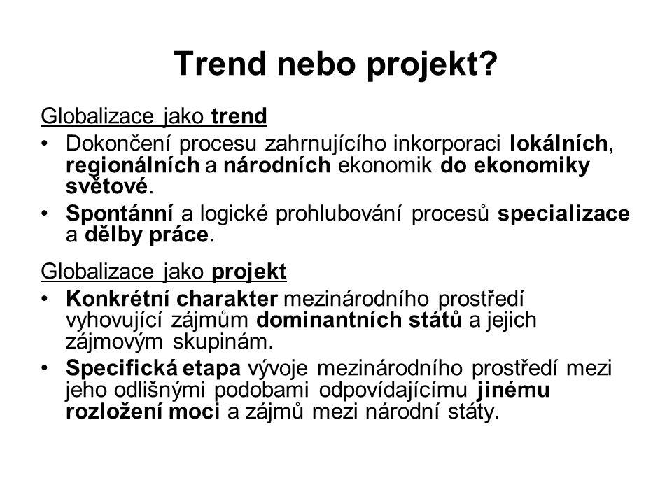 Trend nebo projekt.