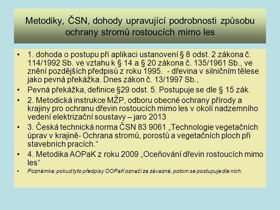 Standardy v ochraně přírody AOPaK ve spolupráci s Lesnickou a dřevařskou fakultou MU v Brně zavádí od roku 2013 standardy v ochraně přírody.