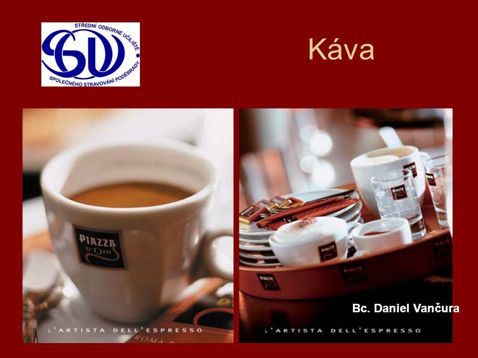 Druhy kávy Ristretto, espreso, lungo, cappucino, latté