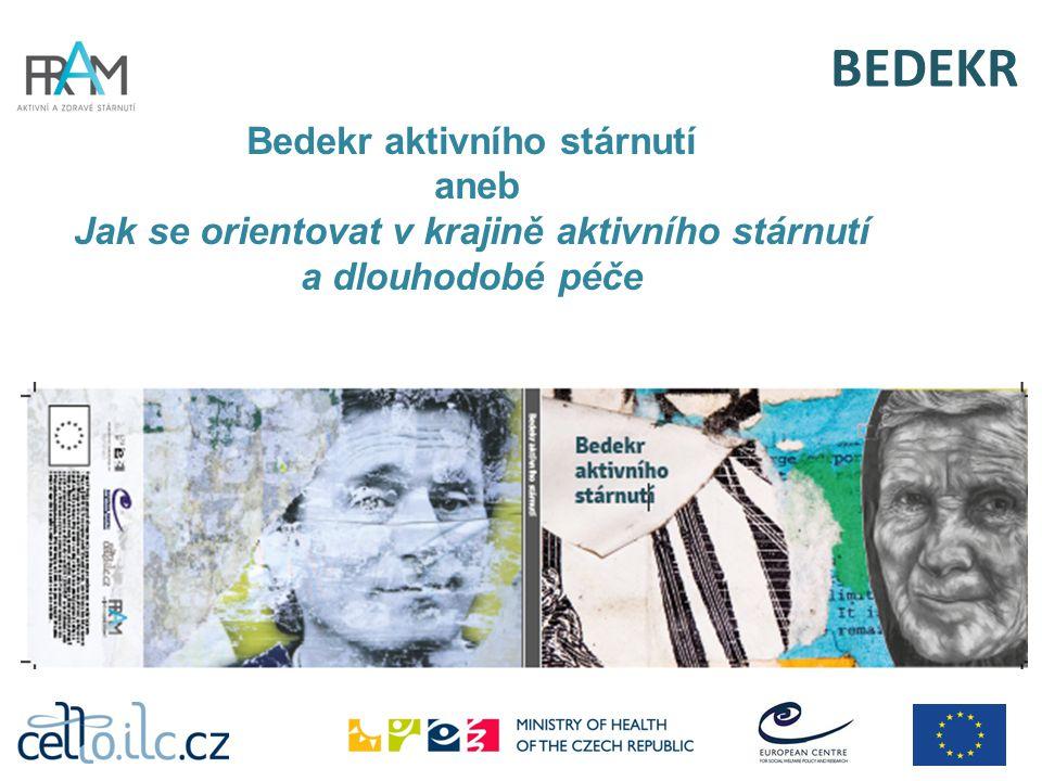 BEDEKR  Podpora aktivního a zdravého stárnutí na místní úrovni  Komunikace a účast na správě obce  Bydlení  Bezbariérovost prostředí a dostupnost dopravy