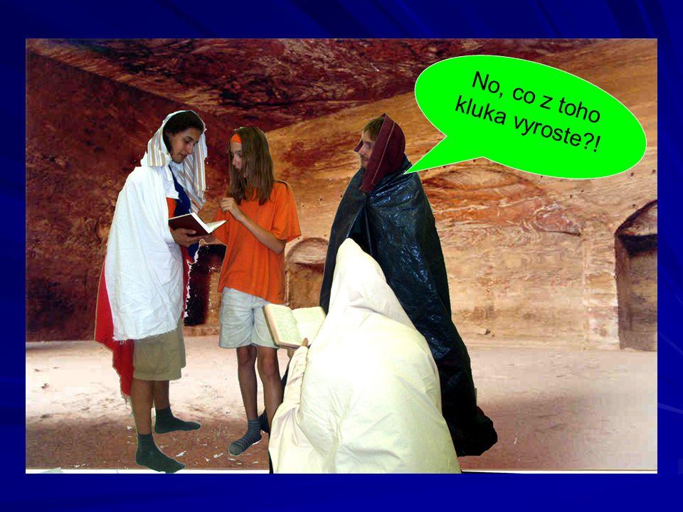 Když o tom mluvili, Ježíš byl najednou uprostřed nich.