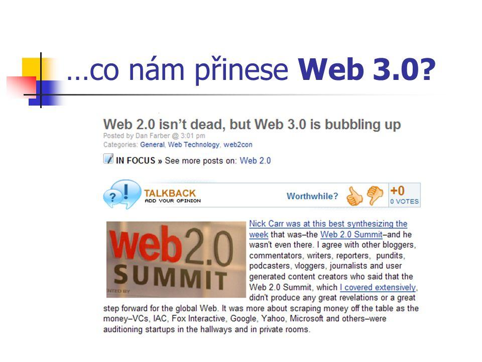 …co nám přinese Web 3.0?