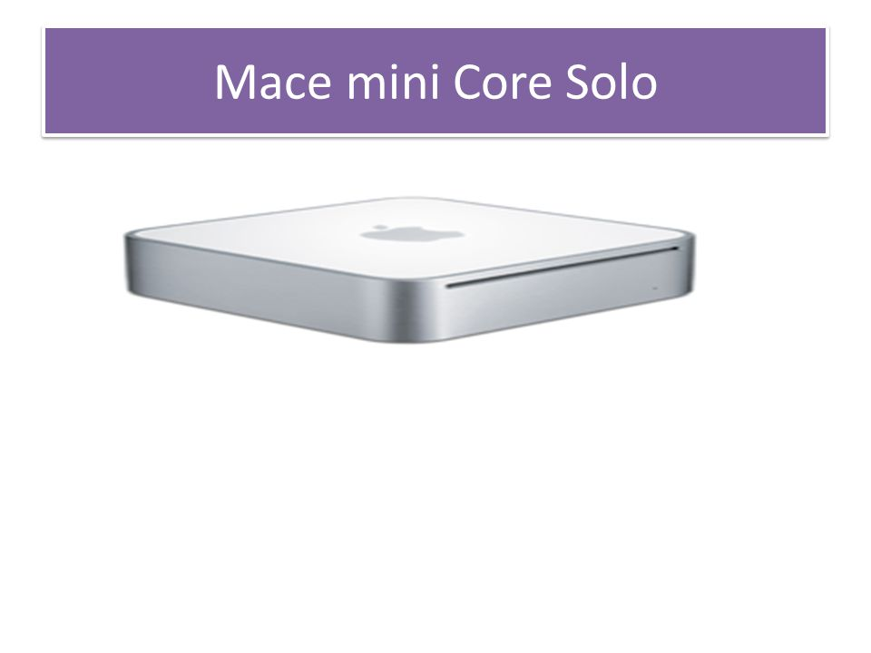 Mace mini Core Solo