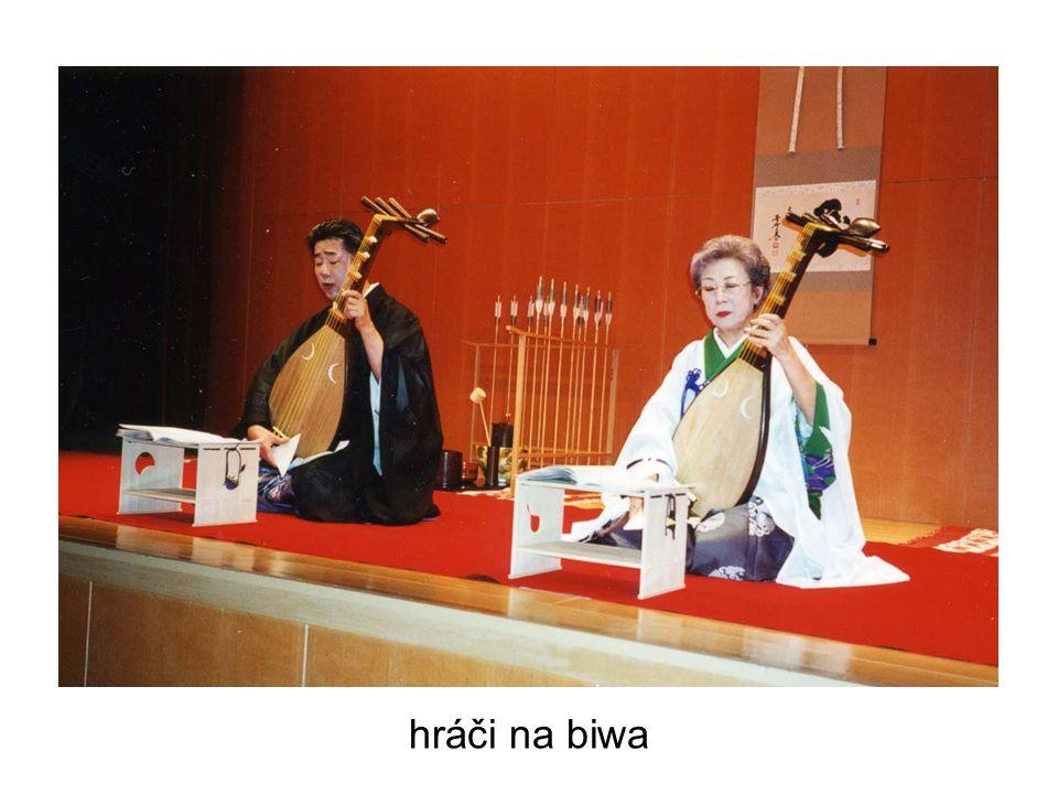 hráči na biwa