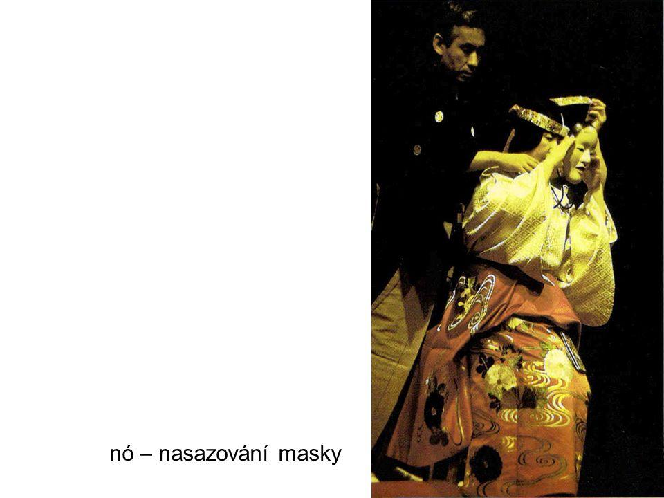 nó – nasazování masky
