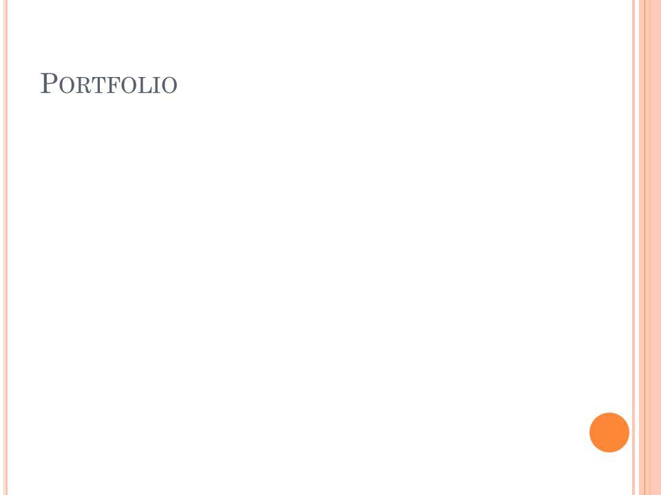 P ORTFOLIO