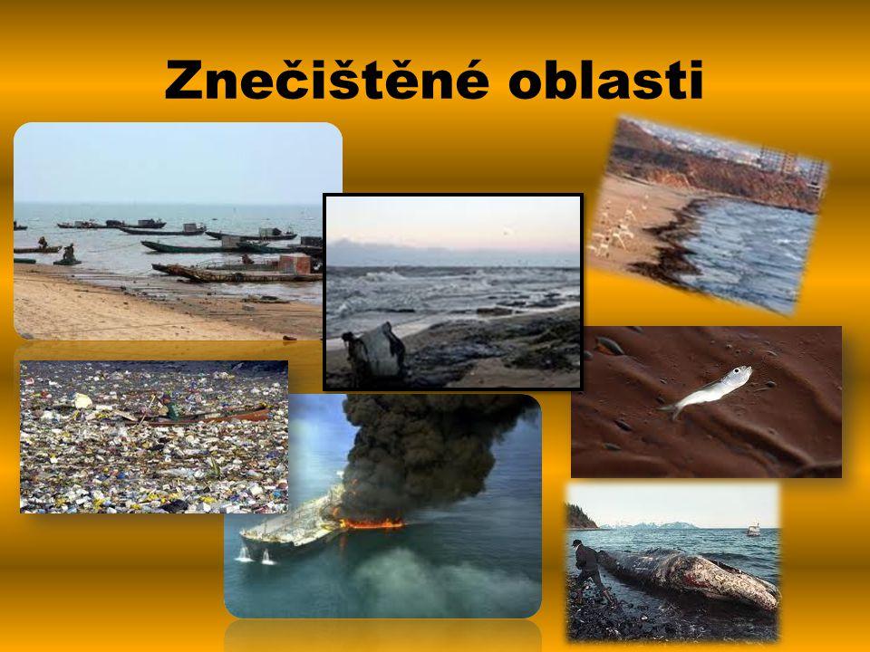 Znečištěné oblasti
