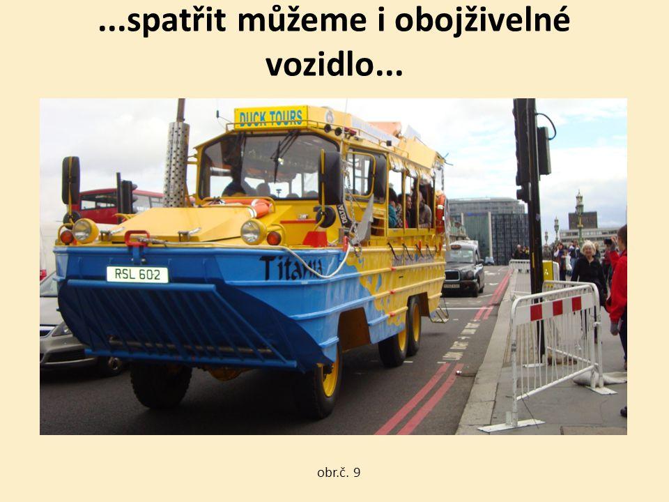 ...spatřit můžeme i obojživelné vozidlo... obr.č. 9
