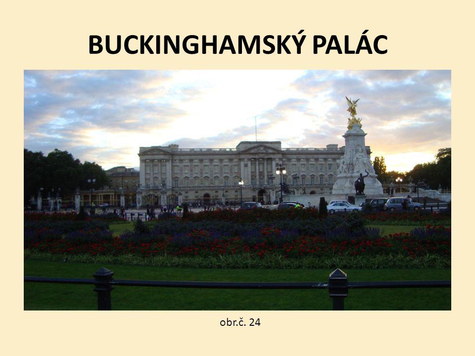 BUCKINGHAMSKÝ PALÁC obr.č. 24