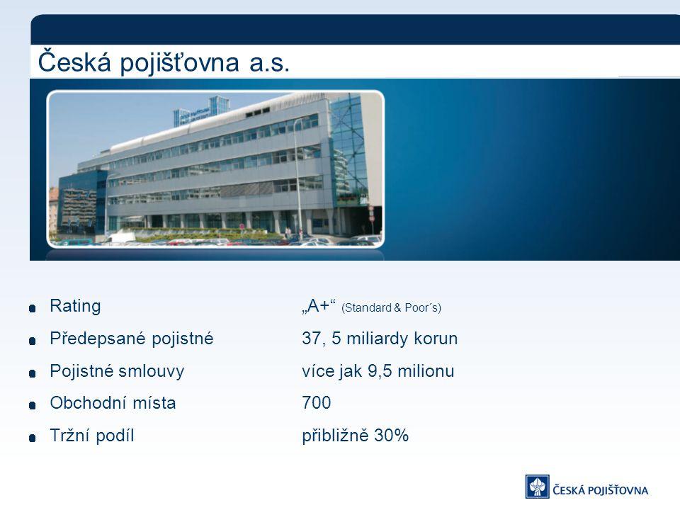 Česká pojišťovna a.s.