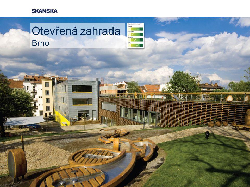 Otevřená zahrada Brno