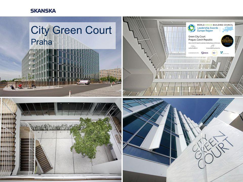 City Green Court Praha
