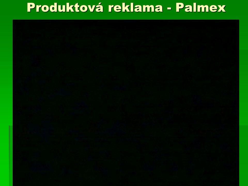 Produktová reklama - Palmex
