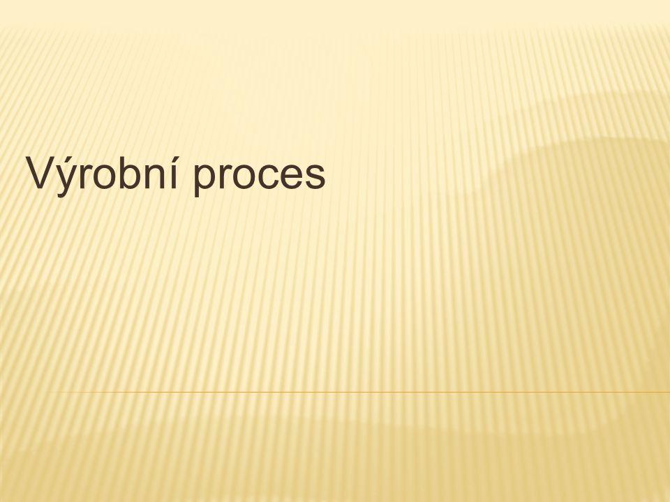  Výroba je z á kladn í činnost í výrobn í ho podniku  Výrobn í proces = proces přeměny vstupů na výstupy za ú čelem tvorby nov é hodnoty