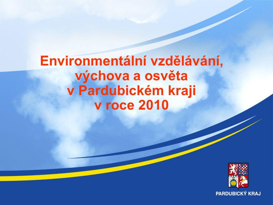 Environmentální vzdělávání, výchova a osvěta v Pardubickém kraji v roce 2010