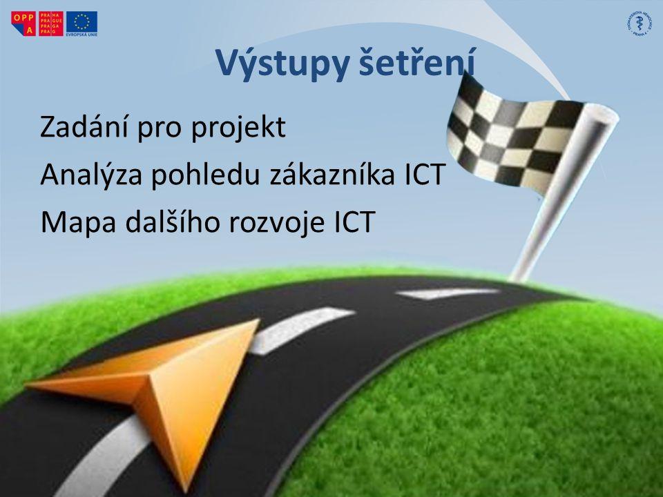 Výstupy šetření Zadání pro projekt Analýza pohledu zákazníka ICT Mapa dalšího rozvoje ICT