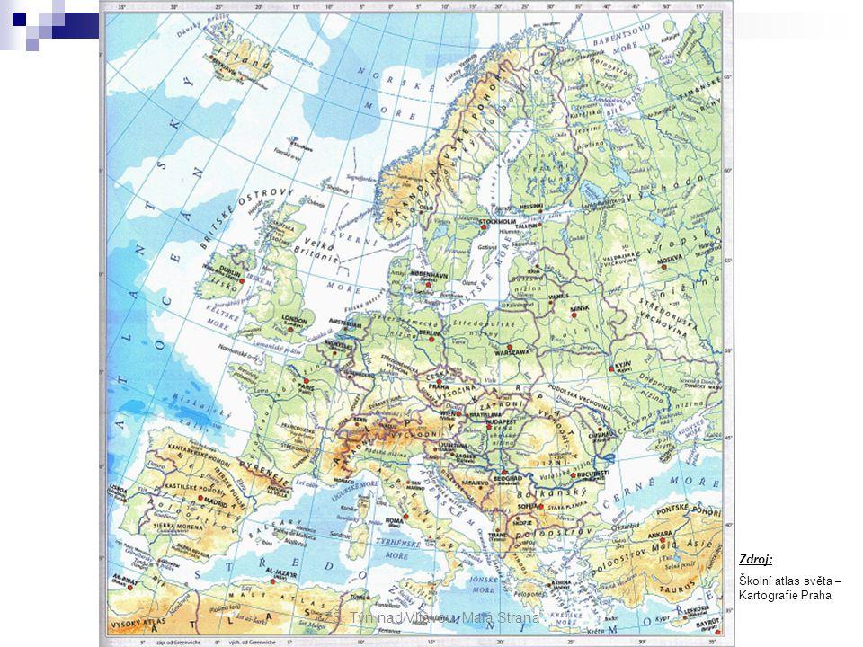 Evropa rozloha: rozloha: - 2.nejmenší kontinent světa - 10,5 mil.