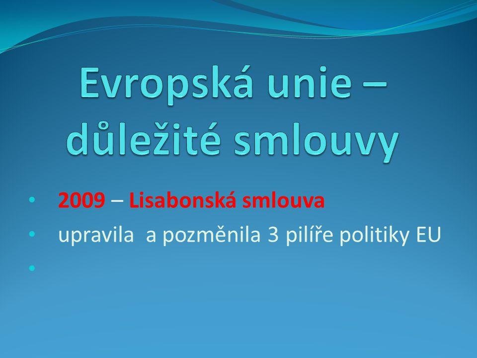 2003 smlouva o přistoupení 2003 referendum o vstupu – 77,3 % voličů pro vstup 1.5.2004 datum vstupu do EU Přechodná období – nabývání půdy a lesů cizozemci, volný pohyb pracovních sil, drůbeží klece apod.