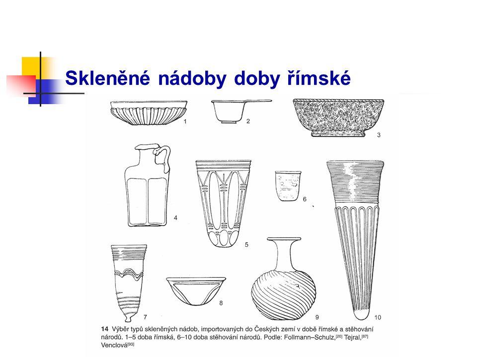 Skleněné nádoby doby římské