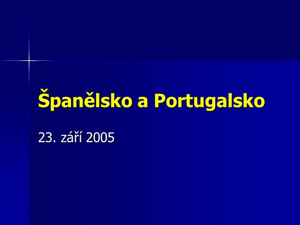 Španělsko a Portugalsko 23. září 2005