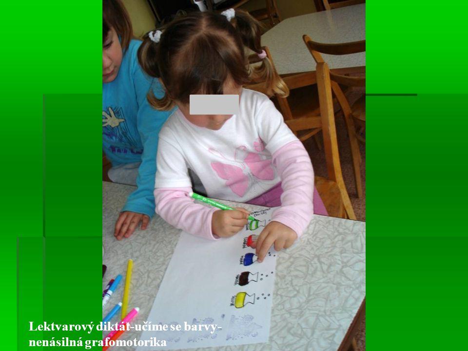 Lektvarový diktát-učíme se barvy- nenásilná grafomotorika