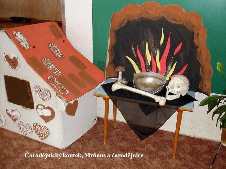 Čarodějnický koutek, Mrňous a čarodějnice