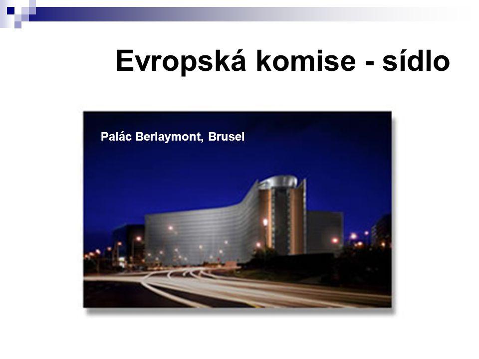 Evropská komise - sídlo Palác Berlaymont, Brusel