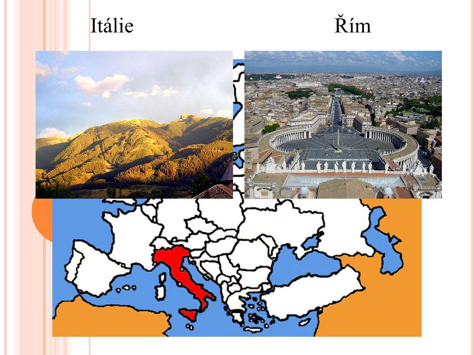 ItálieŘím