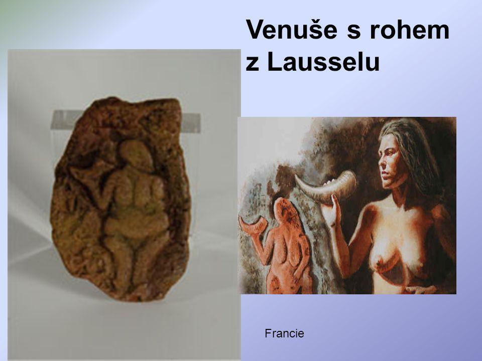 Venuše s rohem z Lausselu Francie