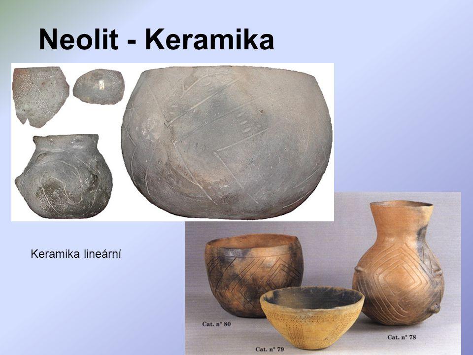 Neolit - Keramika Keramika lineární