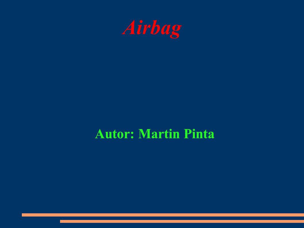 Vybouchlý airbag
