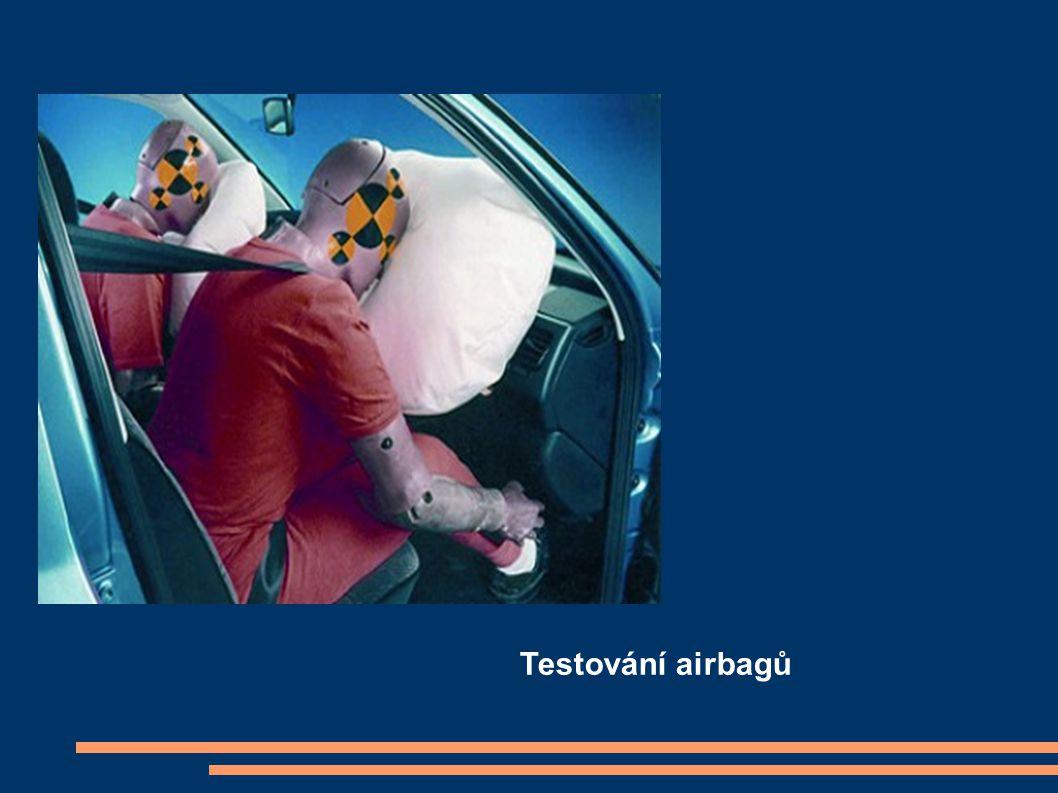 Testování airbagů