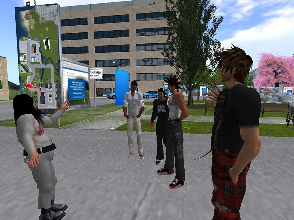 Second Life není to hra je bezplatný průměrný věk 32 let (WoW 17 let) 16 mil.