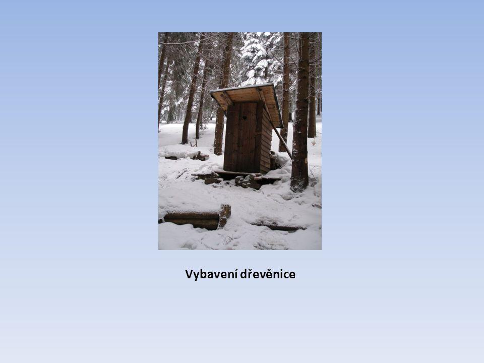 Vybavení dřevěnice
