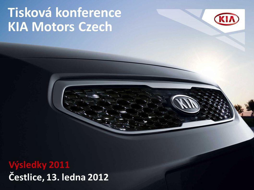 Tisková konference KIA Motors Czech Výsledky 2011 Čestlice, 13. ledna 2012