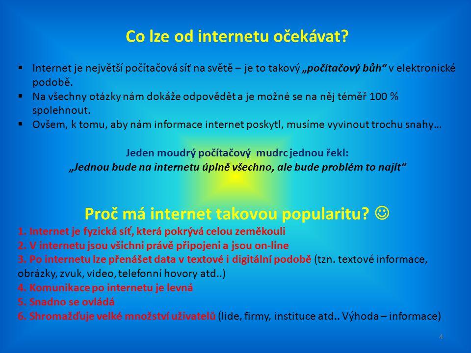 7.Absolutní svoboda publikování (jakýkoliv člověk může na internetu cokoliv vložit, napsat atd..