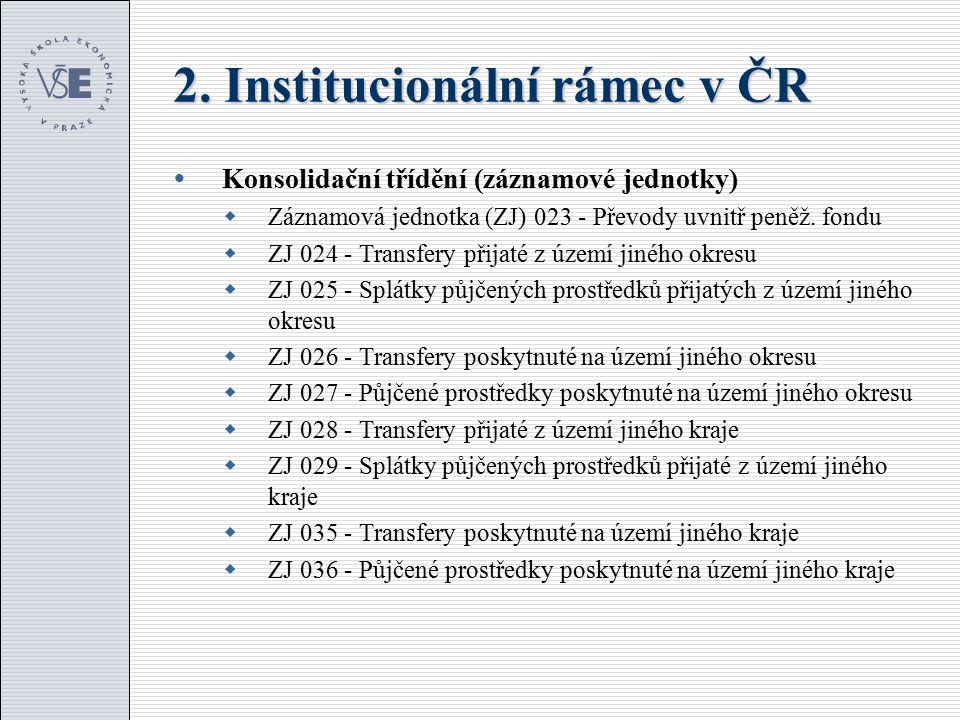 3.Vývoj veřejných výdajů v ČR (mld.
