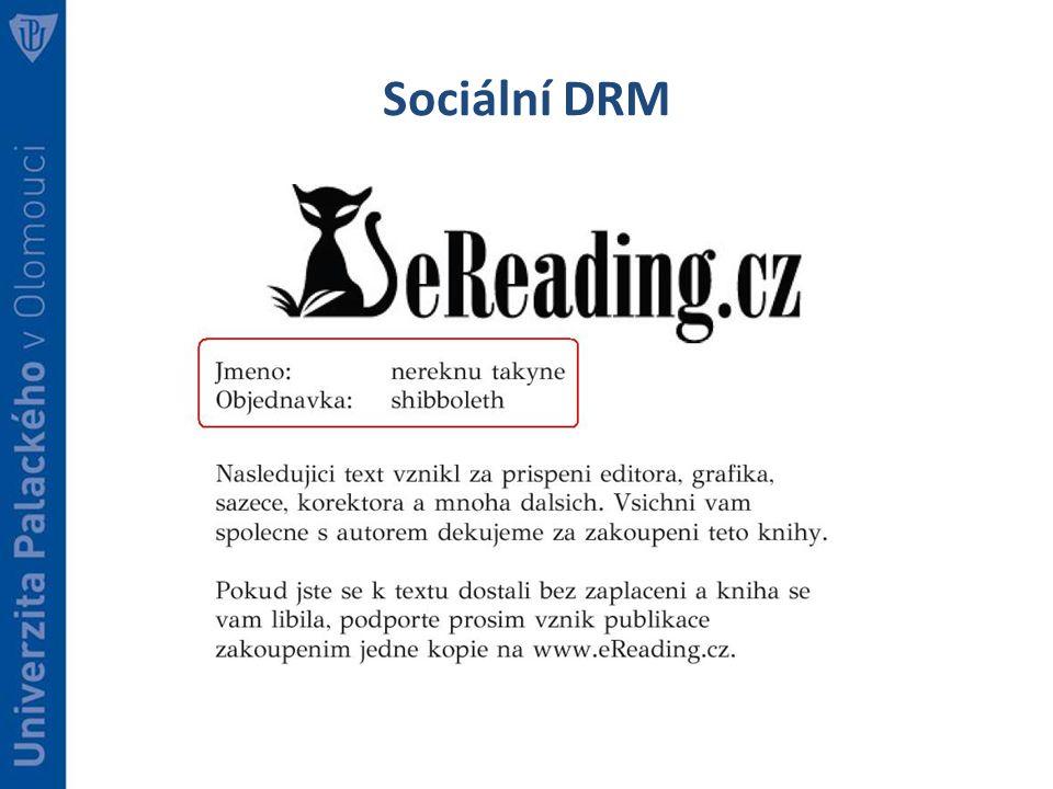 Sociální DRM