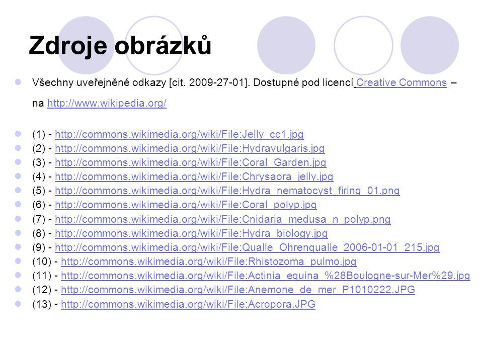 Zdroje obrázků Všechny uveřejněné odkazy [cit.2009-27-01].
