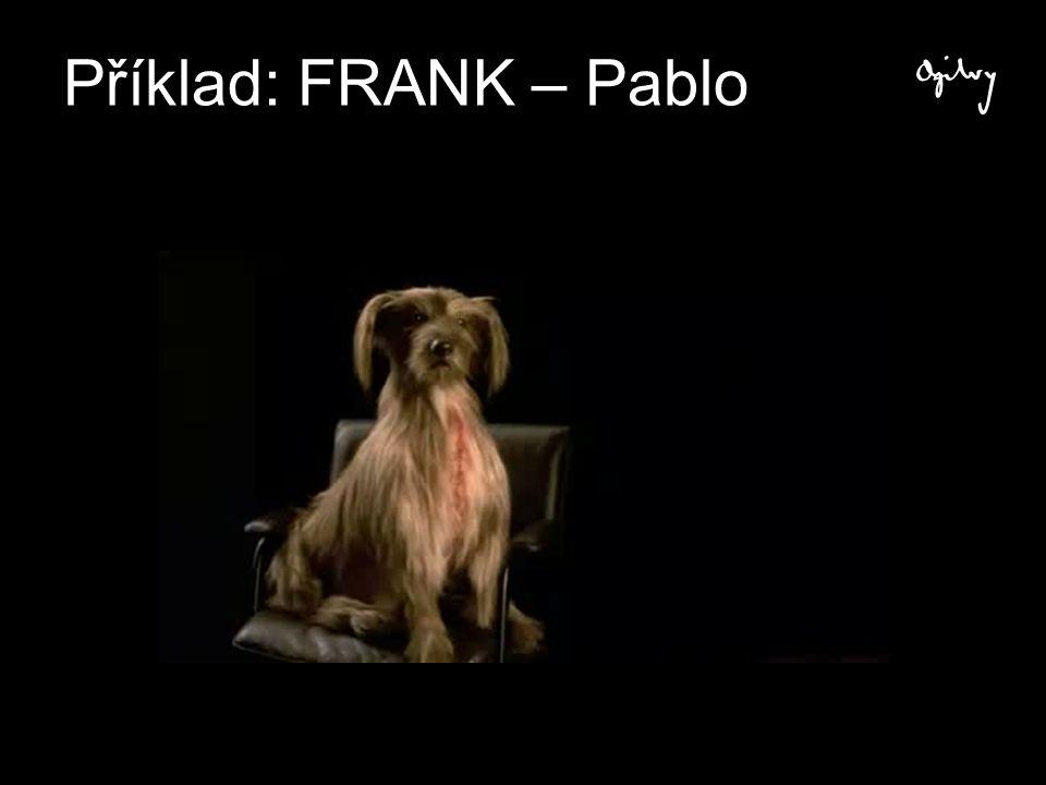 Příklad: FRANK – Pablo